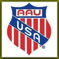 AAU Track and Field Logo